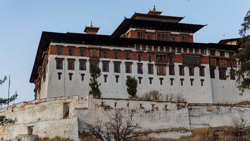Le Dzong de Paro, XVIIème siècle